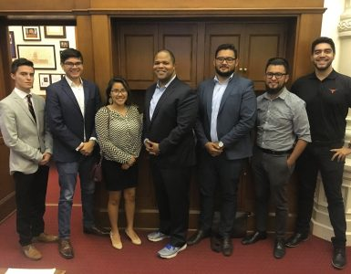 Chinquapin alum earns internship with Texas State Rep. Eric Johnson